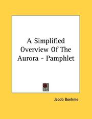 Cover of: A Simplified Overview Of The Aurora - Pamphlet