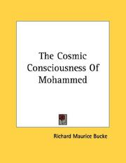 Cover of: The Cosmic Consciousness Of Mohammed