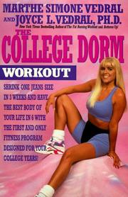 Cover of: The college dorm workout | Marthe Simone Vedral