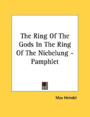 Cover of: The Ring Of The Gods In The Ring Of The Niebelung - Pamphlet | Max Heindel