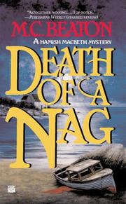 Cover of: Death of a Nag (Hamish Macbeth Mysteries