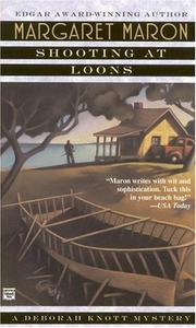 Cover of: Shooting at Loons (Deborah Knott Mysteries) | Margaret Maron