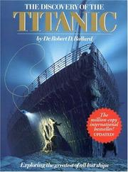 Cover of: The discovery of the Titanic