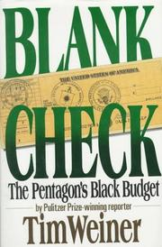 Cover of: Blank check