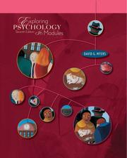 Cover of: Exploring Psychology In Modules
