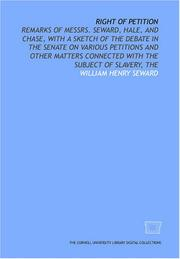 Cover of: Right of petition