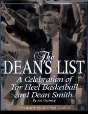 Cover of: The Dean's list: a celebration of Tar Heel basketball and Dean Smith