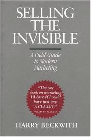 Cover of: Selling the Invisible