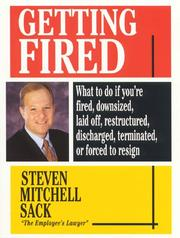 Cover of: Getting fired