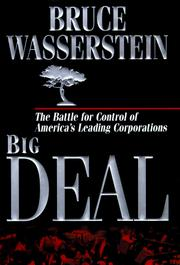Big Deal by Bruce Wasserstein