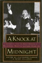 Cover of: A Knock at Midnight: Inspiration from the Great Sermons of Reverend Martin Luther King, Jr.