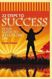 Cover of: 22 Steps to Success | Krysta Gibson