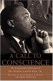 Cover of: A Call to Conscience | Carson, Clayborne, Kris Shepard, Andrew Young