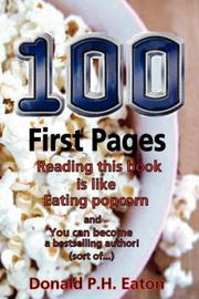 Cover of: 100 First Pages | Donald, P. H. Eaton