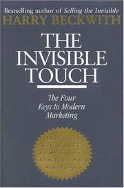 Cover of: The invisible touch