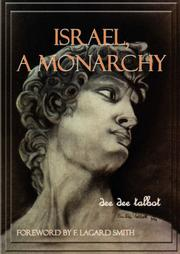 Cover of: Israel a Monarchy | Dee Dee Talbot