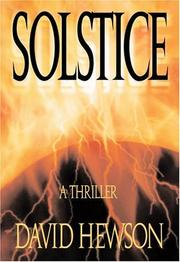 Cover of: Solstice