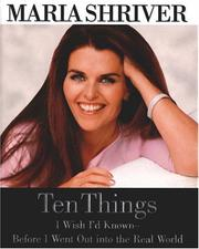 Cover of: Ten Things I Wish I