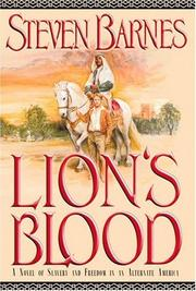 Cover of: Lion's blood