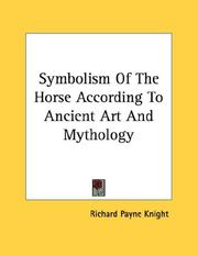 Cover of: Symbolism Of The Horse According To Ancient Art And Mythology