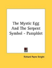 Cover of: The Mystic Egg And The Serpent Symbol - Pamphlet