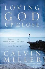 Cover of: Loving God up close