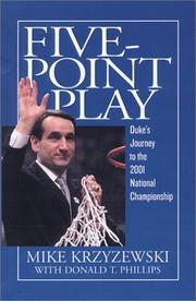 Cover of: Five-Point Play: The Story of Duke's Amazing 2000-2001 Championship Season