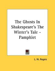 Cover of: The Ghosts In Shakespeare