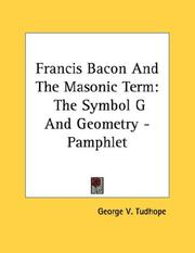 Cover of: Francis Bacon And The Masonic Term