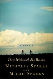 Cover of: Three weeks with my brother