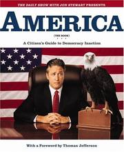 Cover of: America (the book)