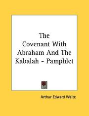 Cover of: The Covenant With Abraham And The Kabalah - Pamphlet
