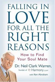 Cover of: Falling in love for all the right reasons
