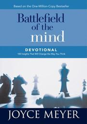 Cover of: Battlefield of the mind devotional