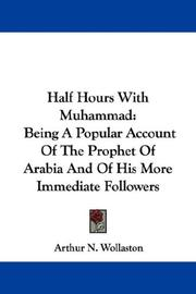 Cover of: Half Hours With Muhammad | Arthur N. Wollaston