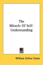 Cover of: The Miracle Of Self-Understanding