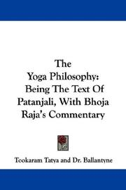 Cover of: The Yoga Philosophy |