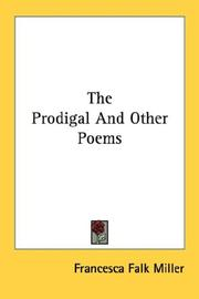 Cover of: The Prodigal And Other Poems