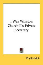 Cover of: I Was Winston Churchill