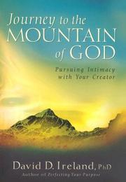 Cover of: Journey to the mountain of God | Ireland, David