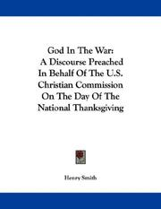Cover of: God In The War