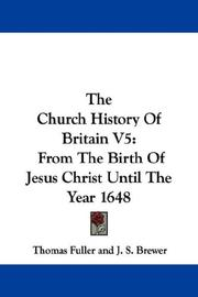 Cover of: The Church History Of Britain V5