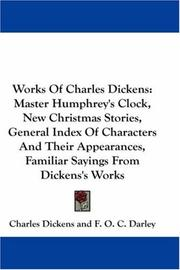 Cover of: Works Of Charles Dickens |