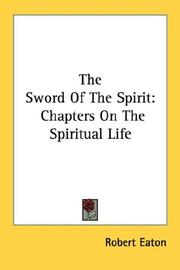 Cover of: The Sword Of The Spirit