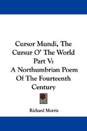 Cursor Mundi, The Cursur O The World Part V