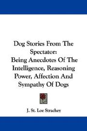 Cover of: Dog Stories From The Spectator