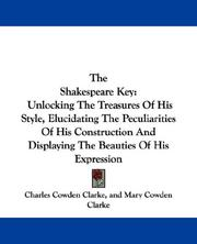 Cover of: The Shakespeare Key | Charles Cowden Clarke