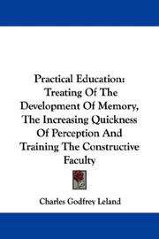 Cover of: Practical Education | Charles Godfrey Leland