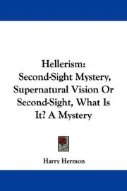 Cover of: Hellerism | Harry Hermon