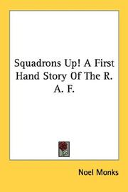Cover of: Squadrons Up! A First Hand Story Of The R. A. F
